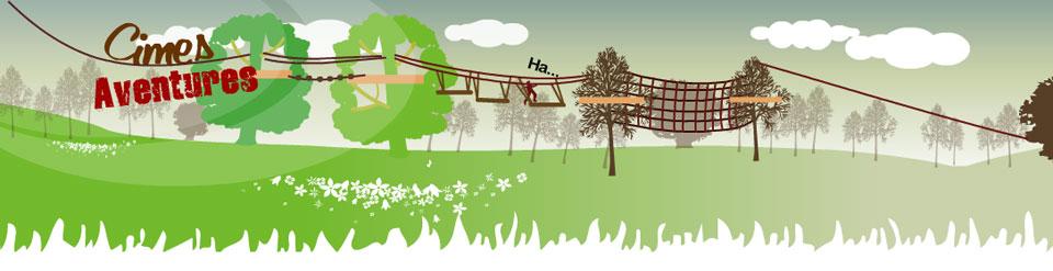 Super Anniversaires - Cimes Aventures / Parcours acrobatiques en forêt  KY82